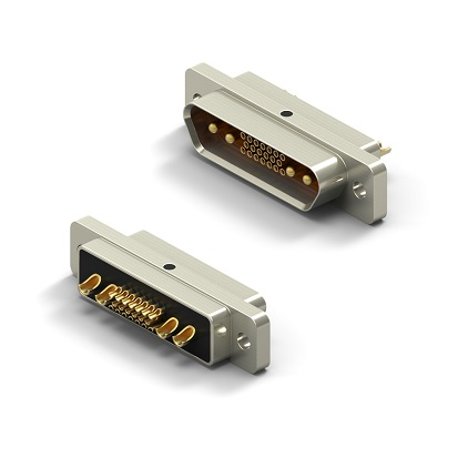 Solderable Standard Profile Metal Shell Connectors